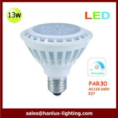 13W LED par30 dimmable bulb