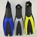 Vairous color diving flippers/surf flippers