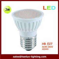 3W LED HR E27 bulbs