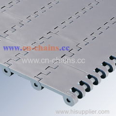 Series E80 Flat top conveyor belt can be used in poultry industry