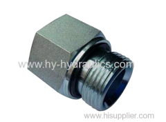 BSP male double use for 60° cone seat or bonded seal/ BSP female ISO 1179 Adapters 5B