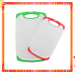 ANTISLIP PLASTIC CUTTING BOARD WITH DIFFERENT SIZE