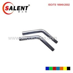 "SALENT High Quality 2.75"" (102mm) 45degree elbow Aluminum Piping"