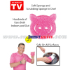 Hog wash dog wash scrub sponge
