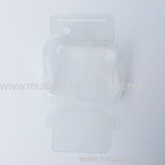 Papery Transparent Cover Environmental Windup Music Box Parts