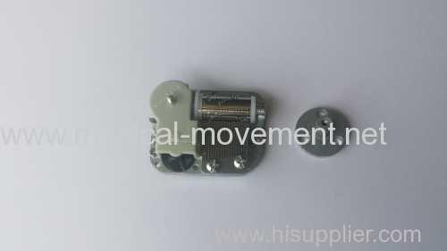 Rotate Mini Cute Music Box 18 Note Miniature Clockwork Music Box Movement Rotation Kits