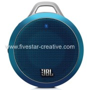 JBL Micro Wireless Portable Bluetooth Speaker Blue with Built-In Bass Port