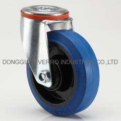 Hot sale industrial rubber wheel casters