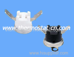 bimetal thermostat 250V 10A