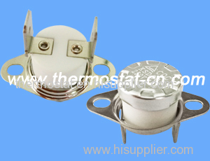 ceramic snap-action thermal switch