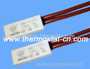 thermal protector 250V 5A normally closed