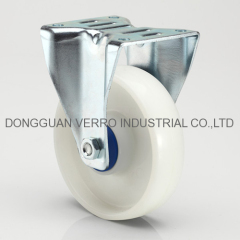 Storage cage cart casters with polyproplyene wheels