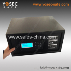 Electronic Hotel laptop safe with illuminated light