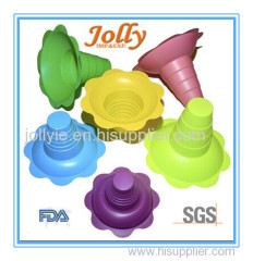 glossy shave ice cup plastic