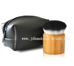 Bamboo kabuki brush wholesale