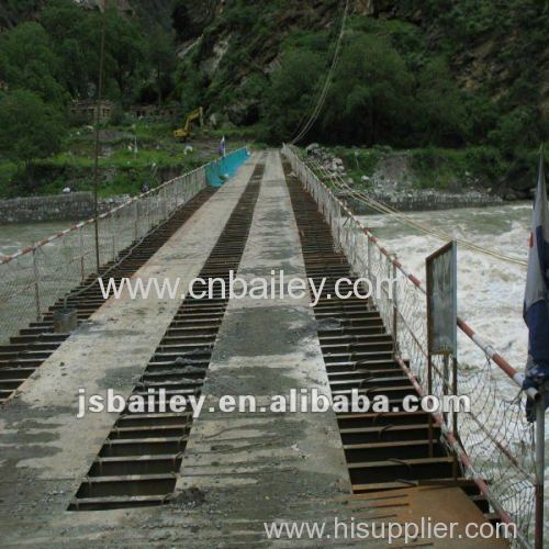 Prefabricated Bailey Steel Bridge