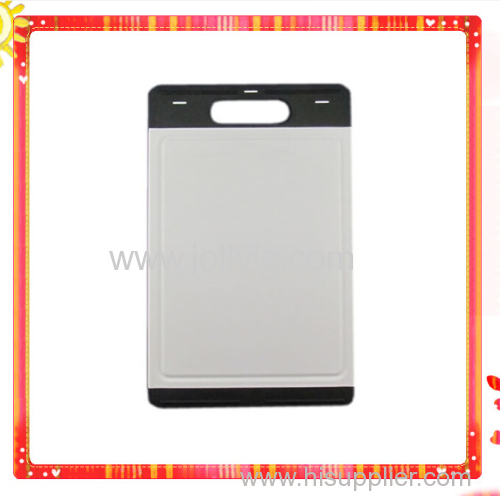 COOKED FOOD HEALTHY PLASTIC CHOPPING BOARD