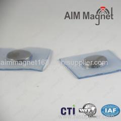 plastic neodymium magnetic disc for clothing