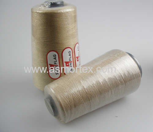 Polyester sewing machine thread