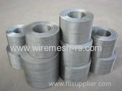 plastic extruder filter mesh belt