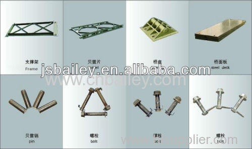 Structural Bailey Steel bridge Components