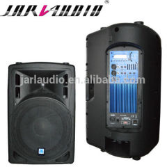 active speaker with Bluetooth and FM/plastic speaker with LCD and MP3 player