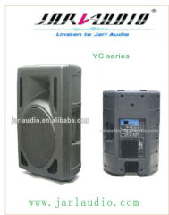 15inch plastic active speaker with RMS 200W