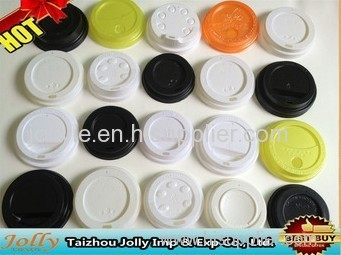 coffee lids for paper cups flat design