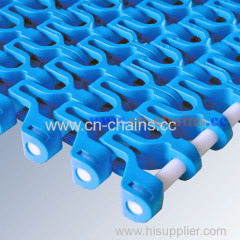 E93 conic top modular plastic conveyor belt in industry