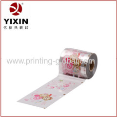2014 ABS heat transfer film for portable comb with vivid design