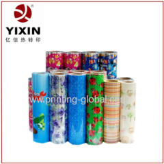 3D heat transfer printing film for scissor which no need color register