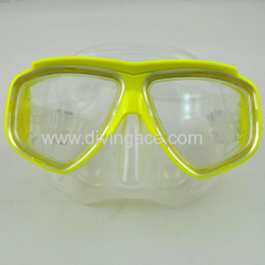 Wholesale Popular freediving mask/diving mask