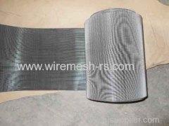 reversible dutch woven mesh belt