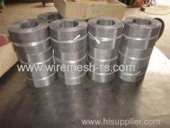 extrusion filter belt for plastic melt