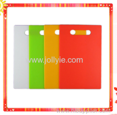 FASHION SQUARE COLORFUL PLASTIC CHOPPING BOARDS