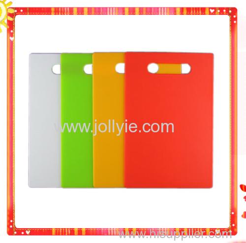 FASHION SQUARE COLORFUL PLASTIC CHOPPING BOARDS