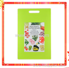 COLORFUL PLASTIC BREAD CHOPPING BOARD
