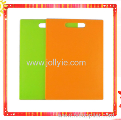 COLORFUL FASHION SQUARE PLASTIC CUTTING BOARDS