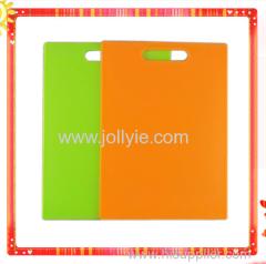 COLORFUL FASHION SQUARE PLASTIC CUTTING BOARDS