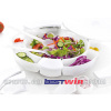 19 pieces salad bowl set