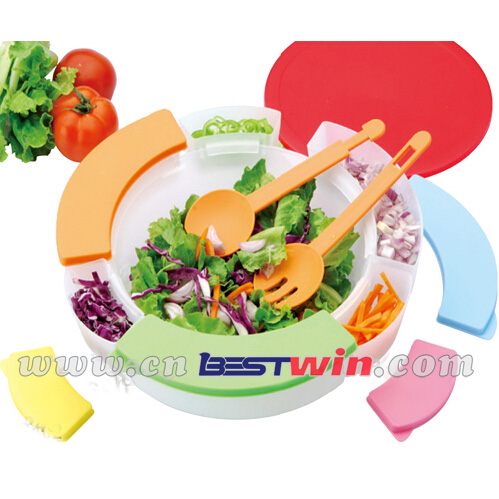 15 pcs salad bowl set