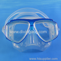 New wholesale PVC two lens diving mask