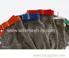 cut resistant wire chain mail gloves