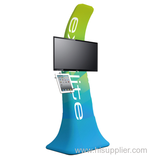 Portable Ipad Tv Trade Show Display 3d 200d Manufacturer From