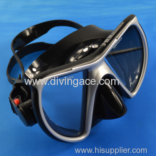 Double glass wholesale diving mask/diving glasses