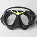 New classic glass double breating mask/diving mask