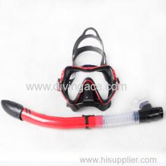 Protection safety diving mask snorkel set manufacturer