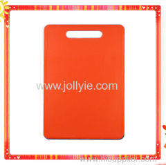 COLORFUL PLASTIC CHOPPING BOARD WITH HOLDER