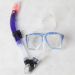 New style swimming mask and snorkel set