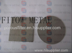 Stainless Steel Powder Metal Sintered Parts as Air Filter